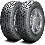 2 Tires Armstrong Tru-trac At Lt 325/65r18 Load E 10 Ply A/t All Terrain
