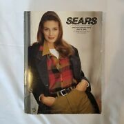 Vintage 1992-1993 Sears Fall/winter Annual Catalog Toys Clothes Mario Barbie
