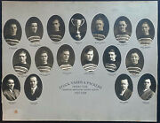 1927-28 Cabinet Photo Stock Yards + Packers Hockey Club Aikenhead Cup Champions