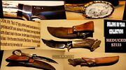 Ww Cronk Custom Hunting Knife Only Used For Display Fixed Blade