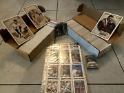 Baseball Card Collection Lot, Tops, Score, 1,700 Cards 80's-90's, Tommy John