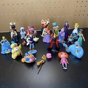Junk Drawer Disney Toy Lot Assorted Character Figures Disney - Used