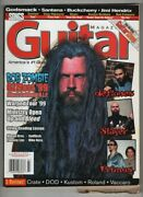 Guitar Magazine Rob Zombie And Ozzfest And Deftones And Slayer July 1999 082621nonr