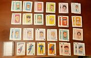 Vintage 1966 Whitman Superman Card Game 44 Of 45 Cards Only Missing Rule Card