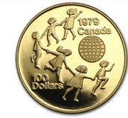 1979 Canada Gold 100 Year Of The Child Proof 1/2 Oz With Box And Coa