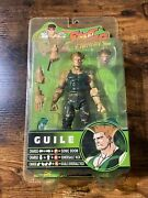 Sota Toys Street Fighter Round 3 P1 Color Action Figure - Guile New Sealed
