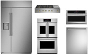 Monogram Pro Package With 48 Gas Rangetop 30 Double Oven And 48 Refrigerator