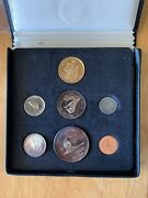 1967 Canada Confederation Centennial 7 Coin Proof Set Includes 20 Gold And Silver