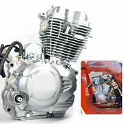 4-stroke 350cc Silver Engine 3 Wheel Motor For Most Chinese 3 Wheel Motorcycle