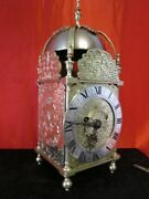 Highly Decorative Victorian Double Fusee Lantern Clock