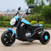 Electric Motorcycle For Kids Toy Battery Powered Ride Tricycle Wheels Motorbike