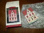 Hallmark Ornament Nostalgic Houses And Shops 13 1996 Victorian Painted Lady