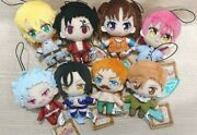 The Seven Deadly Sins Ban Vol.1 And Vol.2 Lot Plush 12cm Complete Set Of 8 New