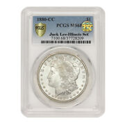 Finest Known 1880-cc 1 Silver Morgan Pcgs Ms68 Pq Approved Illinois Set