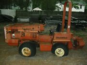 Ditch Witch 350 Sx Gas Trencher Tractor For Parts Bad Motor