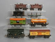 Lionel And Other Vintage O Prewar Assorted Freight Cars [8]