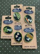 Disney 2016 Remyand039s Ratatouille-hide And Squeak -lot Of 5 Pin-pins Rare Htf