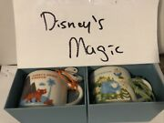 Disney Parks Starbucks Lot Of 4 You Are Here Mug Ornament Cup 4 Parks Htf