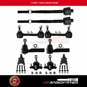 10 Pieces Suspension Parts For Chevrolet Colorado 2004-2006 2wd Ball Joint Kit