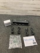New Louroe Electronics If-4 Four Zone Audio Interface Adapter W/ Accessories