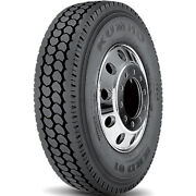 4 Tires Kumho Krd01 11r22.5 Load H 16 Ply Drive Commercial