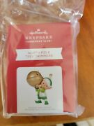 Hallmark 2021 North Pole Tree Trimmers Ornament Exclusivesold Out In Hand