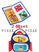Three Coins Pixar Toy Story Lunch Plate 2 Pieces Set Halloween Ems