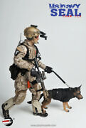 Playhouse 1/6 Scale 12 Us Navy Seal Team Six Action Figure With Dog Ph-005