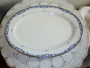 Lenox Liberty Fine China 16 Inch Oval Serving Platter Discontinued 2007