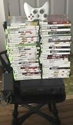 Xbox 360 Elite Console With 66 Games And 1 Wireless Controllers