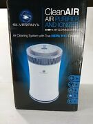 Silveronyx Cleanair Purifier And Ionizer 4 In 1 Air Cleaning System True Hepa...