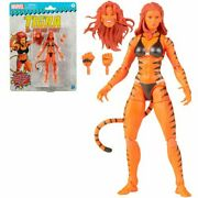 Marvel Legends Retro Collection Marveland039s Tigra In Hand Ready To Ship