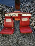1964 Plymouth Fury Bucket Seat And Complete Dash Read Ad