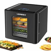 Premium Food Dehydrator - Led Touch Digital Timer And Temperature Control