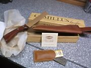 Vintage Camillus Fillet Knife In Box With Stone And Papers Nos No. 1007