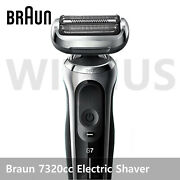 [to Russia] Braun Series7 7320cc Rechargeable Menand039s Electric Shaver By Cdek