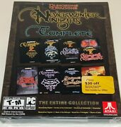 Pc Dungeons And Dragons Neverwinter Nights Complete New Ntsc Atari Game