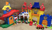 Disney Fisher Price Little People Magic Kingdom Day At Disney Mickey Mouse