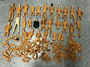 Vintage Marx Johnny West Action Figure Parts And Accessories Huge Lot