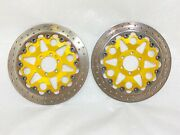 Ducati 916 900 Ss Gold Brembo Full Floating Cast Iron Front Brake Rotor Disc