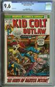 Kid Colt Outlaw 163 Cgc 9.6 White Pages // Highest Graded 1972