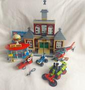 Lego City 60271 Main Square Build Together Used Very Good+30566 City Police