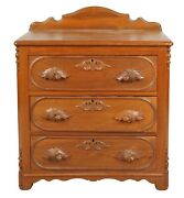 Victorian 3 Drawer Chest Of Drawers Circa 1890s