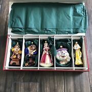 Disneyand039s Beauty And The Beast Enchanted Christmas Ornaments Germany