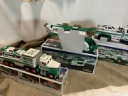 Lot Of 21 Hess Trucks 1991 - 2015 Nib To Used Condition