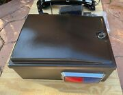 Harley Police Trunk Tour Pack Red And Blue Lights Strober Siren Amplifier