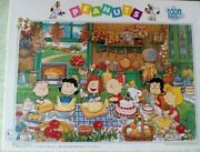 Peanuts Snoopy Making Sweets Apollo-shaand039s Jigsaw Puzzle 1000 Piece 750mm 500mm