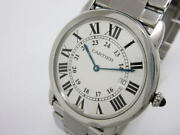 Ronde Solo Lm W6701005 Quartz Silver Dial Stainless Mens