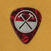 Roger Waters 2012 The Wall Concert Tour Collectible Stage Guitar Pick Pink Floyd
