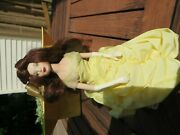 Disney Beauty And The Beast Limited Edition Belle Porcelain Doll Knickerbocker
